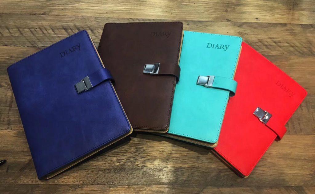 sổ da diary color