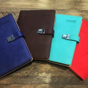 sổ da diary color