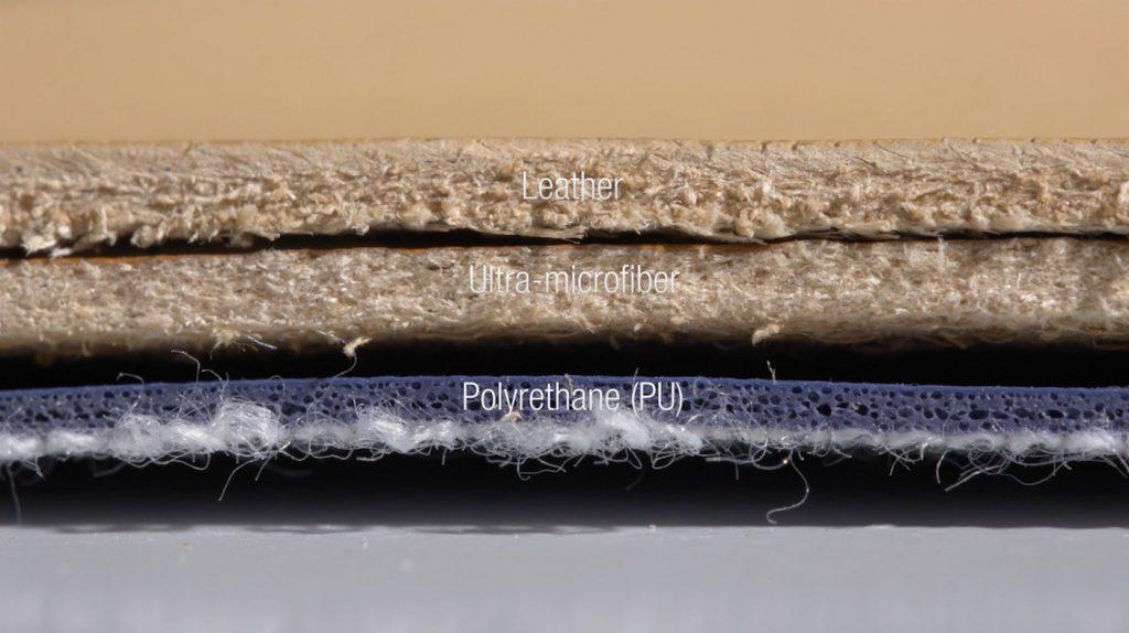 So sánh nhanh giữa 3 mẫu da thật tự nhiên, da microfiber và da PU